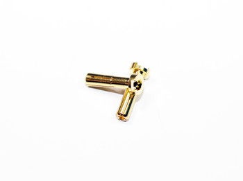 Assault RC 4mm Gold Plated Pure Copper Gold Plated Bullet Connectors