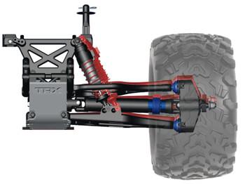 Traxxas T-Maxx 3.3 4WD RTR Nitro Monster Truck w/TQi, TSM, & Telemetry (Blue)