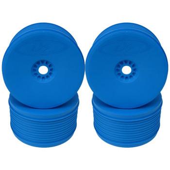 Speedline Plus 1/8 Truggy Wheels, Blue (4 Pack) (DER-PT4-8C)