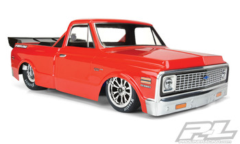 Pro-Line 1972 Chevy C-10 Clear Body for 22S No Prep, Slash Drag Car & DR10 (PRO3557-00)