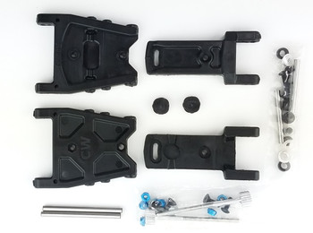 Customworks RC Adjustable Toe A-Arm for Bandit (CSW3288)