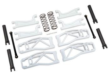 Traxxas WideMaxx Suspension Kit (White) (TRA8995A)
