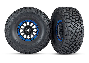 Traxxas Method Racing Assembled Glued Mounted Tires & Wheels (TRA8474X)