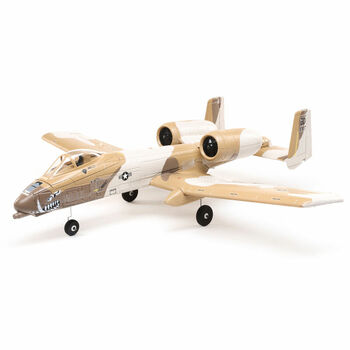 E-flite UMX A-10 Thunderbolt II 30mm EDF BNF Basic with AS3X and SAFE Select, 562mm