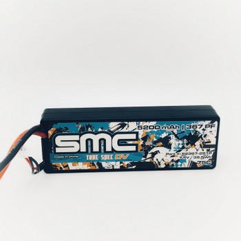 True Spec DV 7.4V 5200mAh 75C wired hardcase (traxxas) (52367-2S1P)