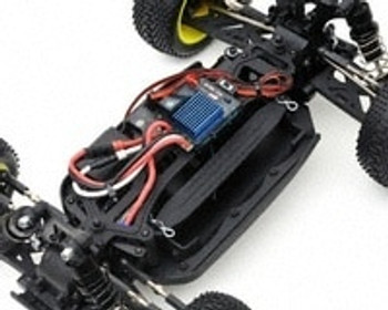 LOSI Losi Mini 8IGHT 1/14 Scale 4WD Electric Buggy RTR w/2.4GHz & Brushless System (Black) (LOSB0224T1)