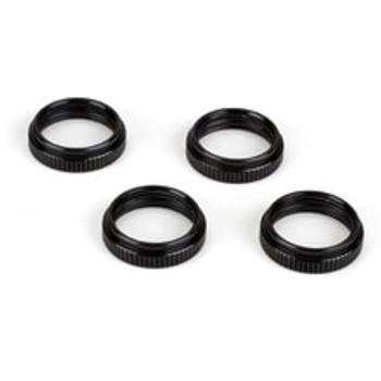 15mm Shock Adjuster Nuts: (4) 8B,8T (LOSA5424)