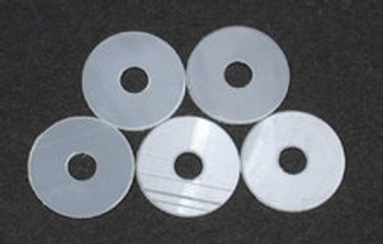 TEAM ASSOCIATED Large Nylon Body Mount Washer Set (4) (RC10T, GT, T2/3, TC4)
