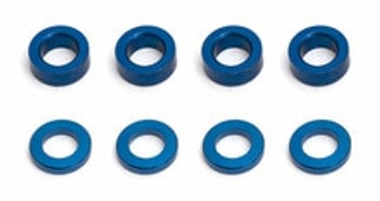 TEAM ASSOCIATED Factory Team Aluminum Ballstud Washer (8) (ASC31286)