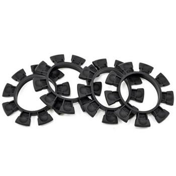 JCONCEPTS 1/8-1/10 Satellite Tire Rubber Bands - Black