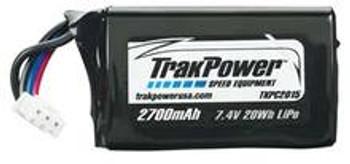 TRAKPOWER LiPo 2S 7.4V 2700mAh Rx Pack Hump w/Universal