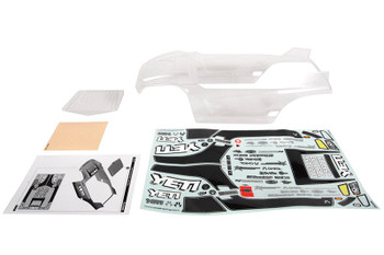 AXIAL Y-380 Body .040 Clear Yeti
