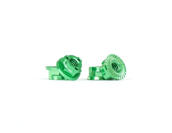 AVID Triad M4 Light Wheel Nuts | Green | 4pcs