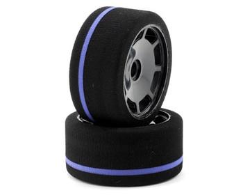 JOHNS BSR BSR 1/12 Blue Front Foams (2) (F1201)