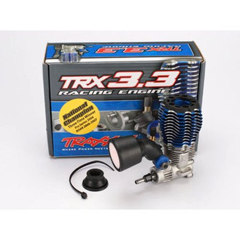 TRAXXAS TRX 3.3 Rear Exhaust IPS Shaft, Standard Plug, Slide Carb Engine