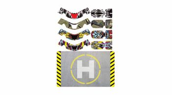 UPGRADE RC FAZE Skins Set Two w/Helipad (4 skins) (UPG7604)