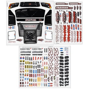 TRAXXAS Slash 4X4 Decal Sheet Set (TRA6813)