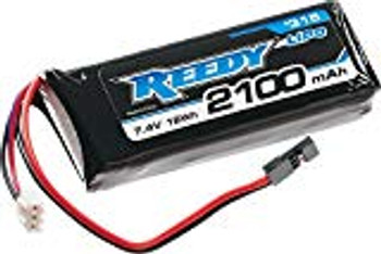 REEDY Li-Poly Flat Receiver Battery Pack w/Balancer Plug (7.4V/2100mAh)