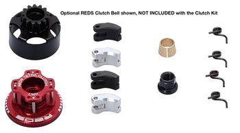 REDS RACING 34mm Tetra 4 Shoe Adjustable Clutch Kit (MUQU0022)