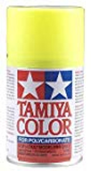 TAMIYA PS-27 Fluorescent Yellow Lexan Spray Paint (3oz)