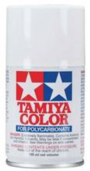 TAMIYA PS-1 White Lexan Spray Paint (3oz) (TAM86001)