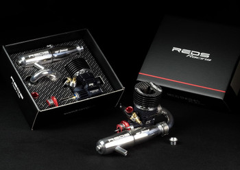 "REDS RACING R5R .21 ""Racer"" Off-road Engine - v3.0 w/HCX Carb/Gen2 Venturi (R5R3)"