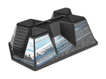 Aero Car Stand - Matte Black - Fits 1/10 & 1/8 Scale (JCI2544M)