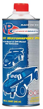 PowerMaster Nitro Race Tessmann 25% Car Fuel (One Quart) (PM4496257)