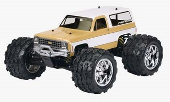 Pro-Line 1980 Chevy Blazer Monster Truck Body (Clear)