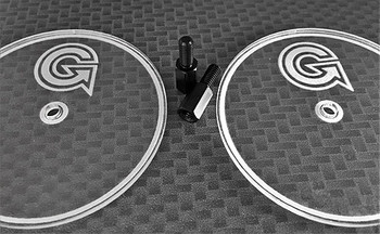Gravity RC Wheel Well Tracing Kit (includes two axle extensions and two tracing discs)