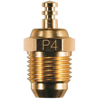"O.S. P4 Gold Turbo Glow Plug ""Super Hot"""