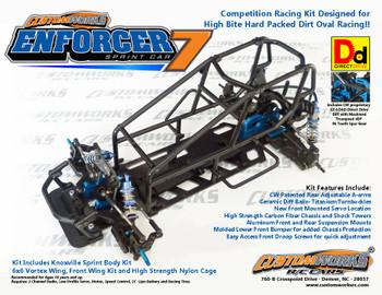Custom Works Enforcer 7 Direct Drive Sprint Car Kit