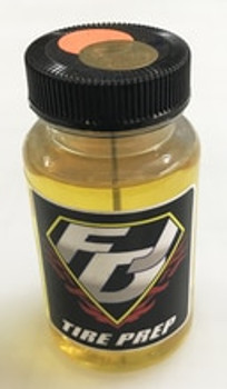 FDJ MOTORSPORTS Tire Traction/Tire Conditioner - Foam Formula (Orange/gold Dot)