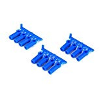 RPM Heavy Duty 4-40 Rod Ends (Blue) (12)