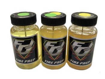 FDJ MOTORSPORTS Clay Tire Treatment/Traction Assortment (Green, Yellow, Yellow/Green)