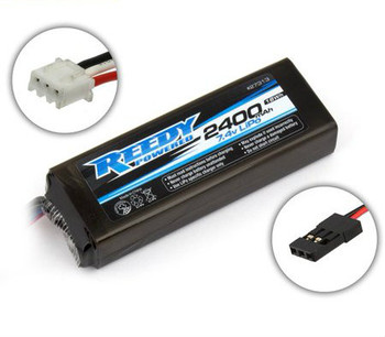 Reedy 2S Flat LiPo Receiver Battery Pack (7.4V/2400mAh)