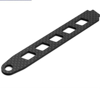 Tekno RC EB410 Carbon Fiber Battery Strap (TKR6503C)