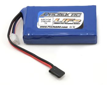 ProTek RC LiFe Futaba Transmitter Battery Pack (4PK/4PX/4PV/7PX) (6.6V/2100mAh)
