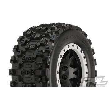 Pro-Line X-Maxx Badlands MX43 Pro-Loc Pre-Mounted All Terrain Tires (MX43)