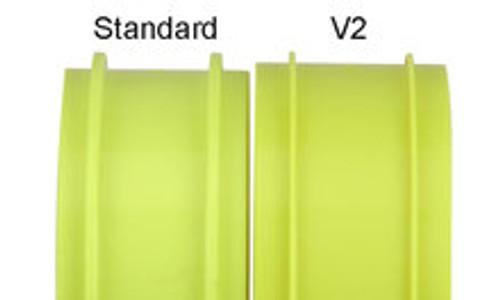 Pro-Line Velocity V2 1/8 Buggy Rims (4) (Yellow) (PRO2702-02)