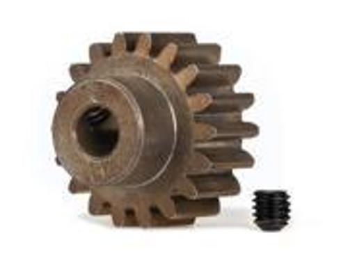 Traxxas Hardened Steel Mod 1.0 Pinion Gear w/5mm Bore (18T)