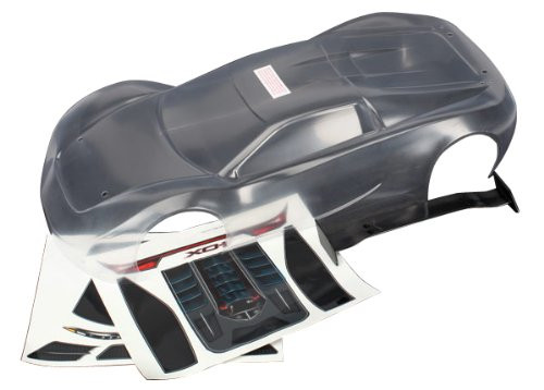 Traxxas XO-1 Un-Painted Body & Wing Set (Clear)