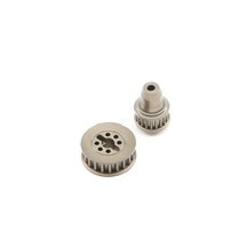 Team Losi Racing 22-4 2.0 Aluminum Pulley Set (TLR332059)