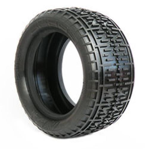 AKA Racing Rebar 2.2 Rear Buggy Tires (Soft) (2) (AKA13108S)