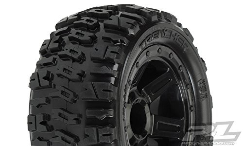 "Pro-Line Trencher 2.2"" M2 (Medium) All Terrain Tires Mounted 1/16"