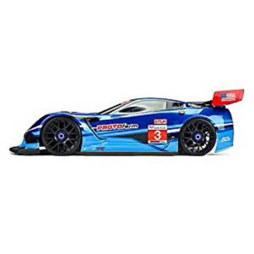 Protoform Corvette C7.R 1/8 Touring Car Body (Clear) (GT2) (Short Wheelbase)