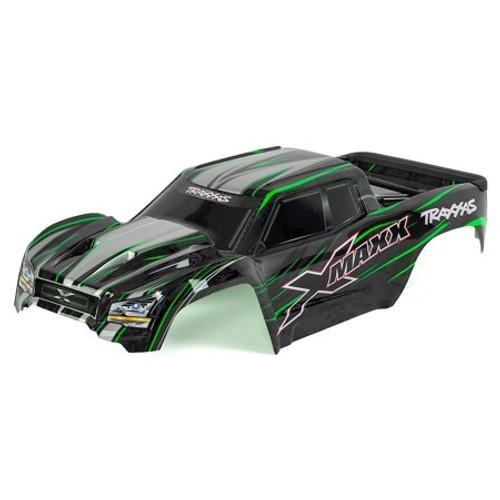 Traxxas X-Maxx Monster Truck Pre-Painted Body (Green)