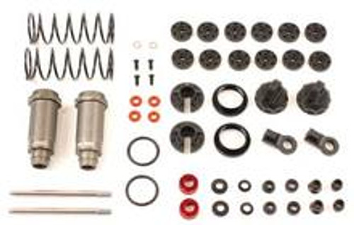 TEAM DURANGO 1/10 ELECTRIC BIG BORE SHOCK SET (TD230025)