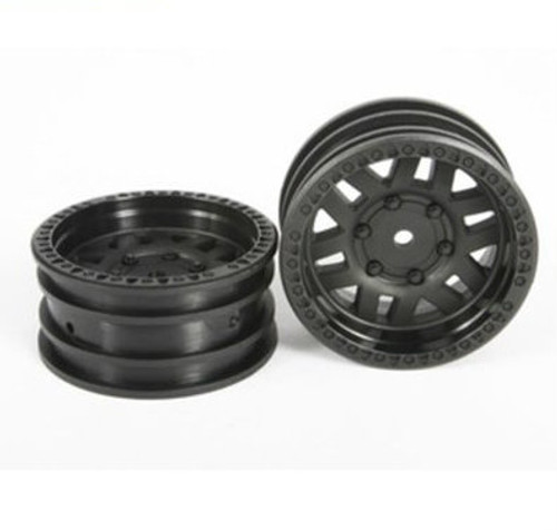 Axial 1.9 Wheels KMC XD Machete Crawl Black (2)