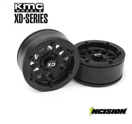 Incision KMC 1.9 XD229 Machete Wheels (2) (Black)